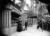 Souvenir shop on the first floor of the Eiffel Tower. Paris (VIIth arrondissement). © Neurdein/Roger-Viollet