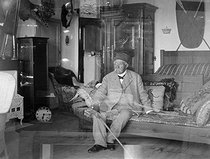 Georges Clemenceau (1841-1929), French statesman, at his house. Saint-Vincent-sur-Jard (France), circa 1925-1929. © Henri Martinie / Roger-Viollet