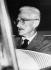 "Dashiell Hammett (1894-1961), écrivain américain, auteur du ""Faucon Maltais"", 1958. © Ullstein Bild / Roger-Viollet"
