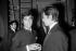 Jean-Claude Brialy (1933-2007) and Alain Delon (born in 1935), French actors. Paris, 1964. © Noa / Roger-Viollet