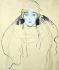 "Gustav Klimt (1862-1918). ""Portrait de femme"", 1917. © TopFoto/Roger-Viollet"