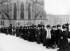 Première journée internationale de la femme. Cortège de manifestantes pour l'introduction du droit de vote des femmes. Berlin (Allemagne), 19 mars 1911. © Haeckel Collection/Ullstein Bild/Roger-Viollet