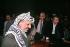 Yasser Arafat, George Habash and Nayef Hawatmeh. Algiers (Algeria), Palestinian National Council. © Françoise Demulder / Roger-Viollet