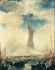 """Francis Blackwell Mayer (1827-1899). Inauguration de la """"Liberté éclairant le monde"""", plus connue sous le nom de """"Statue de la Liberté"""", due à l'architecte Frédéric Auguste Bartholdi (1834-1904). New York (Etats-Unis), 28 octobre 1886.  © TopFoto / Roger-Viollet"""