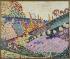 """Robert Delaunay (1885-1941). """"Paysage aux vaches"""". Huile sur toile, 1906. Paris, musée d'Art moderne. © Musée d'Art Moderne/Roger-Viollet"""
