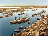 Le port de Port-Saïd (Egypte), vers 1890-1900. © Roger-Viollet