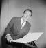 Salvador Dali (1904-1989), Spanish painter and engraver. Paris (France), 1951. © Boris Lipnitzki / Roger-Viollet