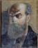 """Frédéric-Auguste Cazals (1865-1941). """"Paul Verlaine (1844-1896), poète français"""". Huile sur bois. Paris, musée Carnavalet.   © Musée Carnavalet / Roger-Viollet"""