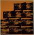 """Andy Warhol (1928-1987). """"Crash de voiture orange"""", 1963. Turin (Italie), galerie d'art moderne. © Alinari / Roger-Viollet"""