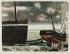 """René Genis (1922-2004). """"Coques"""". Lithographie en couleurs, vers 1959. Paris, musée d'Art moderne. © Musée d'Art Moderne/Roger-Viollet"""