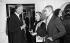 Hubert de Givenchy (1927-2018), couturier français, Sao Schlumberger et Venet. © Jack Nisberg / Roger-Viollet