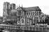 Notre Dame de Paris Cathedral (without the spire). Paris (IVth arrondissement), circa 1855. © FA/Roger-Viollet