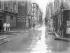 Paris floods. The rue Saint-André-des-Arts (VIth arrondissement), on January 29, 1910. Photo: Ernest Roger.  © Ernest Roger / Roger-Viollet