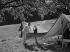 Camping. © Roger-Viollet