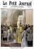 Fêtes en l'honneur de Jeanne d'Arc à Notre-Dame de Paris. Bénédiction de la bannière. Le Petit Journal. Mai 1894. © Roger-Viollet