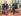 Margaret Thatcher (1925-2013), ancien Premier ministre britannique, et Ronald Reagan (1911-2004), ancien président des Etats-Unis. Londres (Angleterre), Hôtel Claridge. © TopFoto / Roger-Viollet