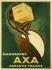 Leonetto Cappiello (1875-1942). Axa Margarine. Poster. Colour lithograph. 1931. Paris, Bibliothèque Forney.  © Bibliothèque Forney/Roger-Viollet