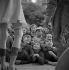 Fun fair : spectators. France, circa 1935. © Gaston Paris / Roger-Viollet