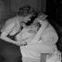 "Shooting of ""Quand la femme s'en mêle"", film by Yves Allégret (1957), after a novel by Jean Amila (1956). Edwige Feuillère and Sophie Daumier. France, on July 18, 1957. © Alain Adler / Roger-Viollet"