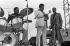 Dizzy Gillespie, Sonny Stitt, Woody Dennard. Festival Radio de Jazz. 21 juillet 1979. Photo : Jak Kilby. © TopFoto / Roger-Viollet