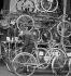 Bicycle seller. © Gaston Paris / Roger-Viollet
