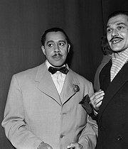 Cab Calloway (1907-1994), singer, conductor of American jazz. © Roger-Viollet