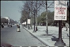 Guerre 1939-1945. Sur les Champs-Elysées, autre affichage du bolchevisme contre l'Europe, Paris. Photographie d'André Zucca (1897-1973). Bibliothèque historique de la Ville de Paris. © André Zucca / BHVP / Roger-Viollet