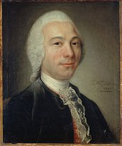 Catherine Lusurier. Portrait of a man, who used to be identified as d'Alembert, 1770. Oil on canvas. Paris, musée Carnavalet. © Musée Carnavalet / Roger-Viollet