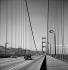 Le pont de la Golden Gate. San Francisco (Californie, Etats-Unis), février 1964. © Hélène Roger-Viollet et Jean Fischer / Roger-Viollet