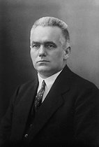 Wilhelm Pieck (1876-1960), German communist, first statesman of the German Democratic Republic from 1949 to 1960.  © LAPI/Roger-Viollet