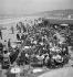 Les planches. Deauville (Calvados), août 1936. © Boris Lipnitzki / Roger-Viollet