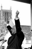 Charles de Gaulle (1890-1970), President of the French Republic. Meaux (France), on June 17, 1965. © Roger-Viollet