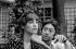Serge Gainsbourg (1928-1991), chanteur et compositeur français et Jane Birkin (née en 1946), actrice anglaise, 1971. Photographie de Georges Kelaïditès (1932-2015). © Georges Kelaïditès / Roger-Viollet