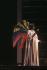 """Saint François d'Assise"", opera by Olivier Messiaen. Direction : Sandro Sequi. Conductor : Seiji Ozawa. Stage design and costumes : Giuseppe Crisolini-Malatesta. Christiane Eda-Pierre. Paris, Opéra Garnier, November 1983. © Colette Masson / Roger-Viollet"