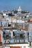 Les toits de Paris et la basilique du Sacré-Coeur depuis la rue Réaumur. Paris (IIème arr.), novembre 1976. Photographie de Léon Claude Vénézia (1941-2013). © Léon Claude Vénézia/Roger-Viollet