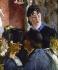 Edouard Manet (1832-1883). The waitress, 1879. Paris, musée d'Orsay.      © Roger-Viollet