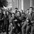 Iranian schoolboys. Teheran (Iran), 1958. © Roger-Viollet