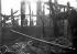 Fire. Saint-Denis (Seine-Saint-Denis), December 1940. © LAPI/Roger-Viollet