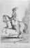 Joséphine de Beauharnais (1763-1814), Empress consort of the French, on horseback. © Roger-Viollet