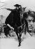 "Dessin d'affiche pour le film de Duccio Tessari ""Zorro"", avec Alain Delon. France/Italie, 1975. © Roger-Viollet"