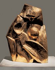 """Ossip Zadkine (1890-1967). """"Forme et lumière"""". Sculpture en bronze, 1918. Paris, centre Georges Pompidou.  © Iberfoto / Roger-Viollet"""