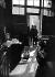 Mr Ollivier in his shop, 6 rue de Seine, before the setting up of the Roger-Viollet agency. Paris (VIth arrondissement), April 1938. © Collection Roger-Viollet / Roger-Viollet