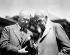 George Eastman (1854-1932), industriel américain et fondateur de la société Kodak, et Thomas Edison (1847-1931), inventeur américain. © TopFoto / Roger-Viollet