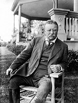 Theodore Roosevelt (1858-1919), president of the United States from 1901 to 1908.  © Roger-Viollet