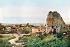 Guerre 1914-1918. Ruines de Clermont-en-Argonne. France, septembre 1916. Fac-similé de plaque autochrome de Jules Gervais-Courtellemont. © Bilderwelt/Roger-Viollet