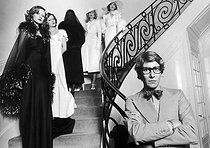 Yves Saint Laurent (1936-2008), French fashion designer. Paris, on April 11, 1974. © Jean-Pierre Couderc / Roger-Viollet