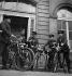 Bicycle policemen. Paris, 1950's. © Gaston Paris / Roger-Viollet