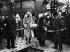 Le comte Ferdinand von Zeppelin (1838-1917), militaire et ingénieur allemand, constructeur de dirigeables, aux funérailles des victimes du dirigeable Zeppelin LZ 2. 1913. © Ullstein Bild / Roger-Viollet