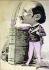Edmond Rostand (1868-1918), poète et auteur dramatique français. Gravure de Charles Decaux.     © Roger-Viollet