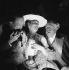 """""""Le Bonheur Mesdames"""", pièce de Francis de Croisset. Michel Simon et Arletty. Paris, Théâtre des Bouffes-Parisiens, février 1934. © Boris Lipnitzki / Roger-Viollet"""